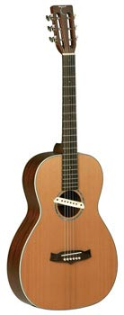New Acoustic Guitar in studio - Tanglewood TW73 (R. L. Baggs M1A)